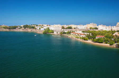 san juan: City and harbor of San Juan, Puerto Rico