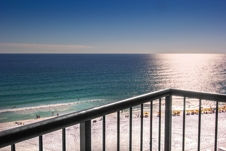 destin: Miramar Beach, in Destin, Florida, a popular beach for tourists and locals.
