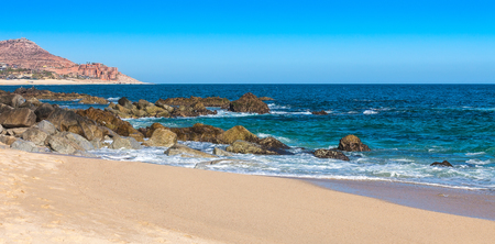 los cabos: Beach and sea of Cortez in Cabo San Lucas, Mexico