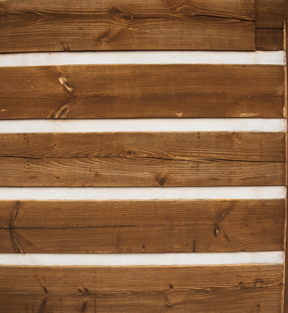 siding: Textured background of wood siding with chinking