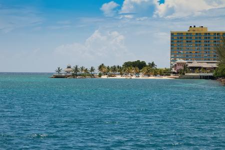 caribbean island: The Caribbean island of Ocho Rios, Jamaica Stock Photo