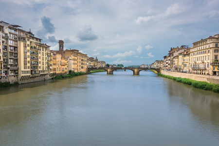 arno: The Ponte Vecchio, or Old Bridge, was the only bridge across the Arno in Florence until 1218.