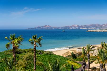 Beach and coastline of Cabo San Lucas, Mexico