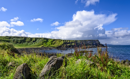 The 20-mile stretch of the Antrim Coastline extending eastward from Portrush to Ballycastle, and includes Giants Causeway.