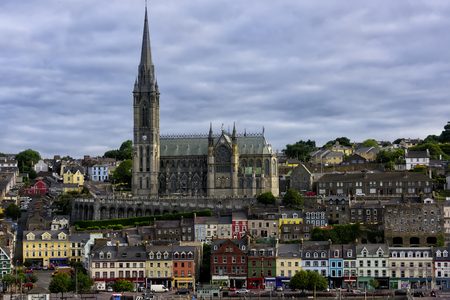 Saint Colmans Cathedral in the port village of Cobh, near Cork, Ireland.