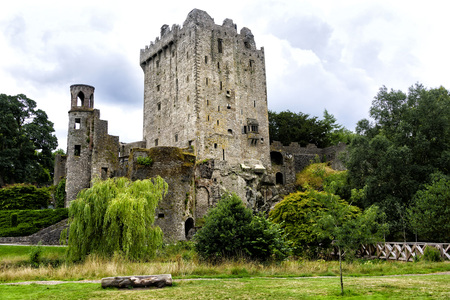 Blarney Castle, a medieval fortress in Blarney built in the year 1210.