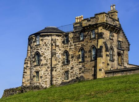 The Old Observatory House, built in the 18th Century, sits on Calton Hill in Edinburgh, Scotland