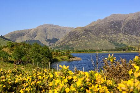 The River Croe, located on the Lochalsh peninsula, near the small village of Kyle of Lochalsh. Imagens