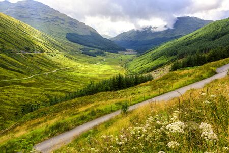 Argyll Forest Park is a forest park located on the Cowal peninsula in Argyll and Bute, Scottish Highlands