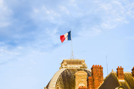 flag of france photo