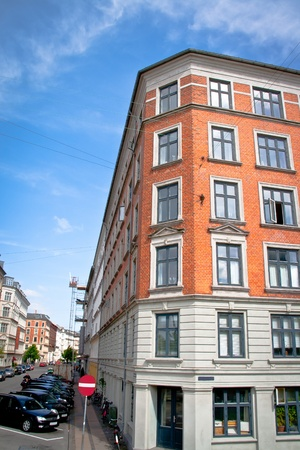 An orange building in Copenhagen, Denmark Stock Photo - 10086068