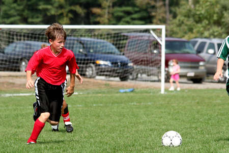 Youth soccer player Stock Photo - 1798330
