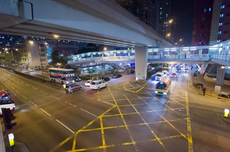 road intersection: Road Intersection, Hong Kong, China