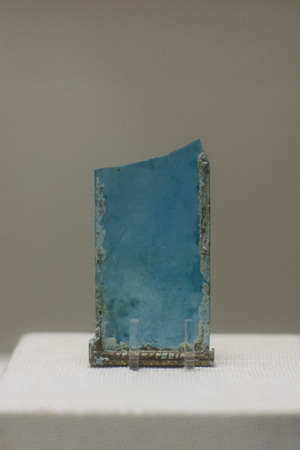 Ancient blue glass of Western Han Dynasty, Guangzhou, China