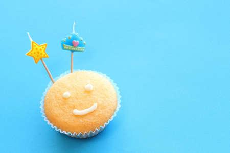 Fathers day cupcake photo