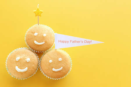 Fathers day cupcakes photo