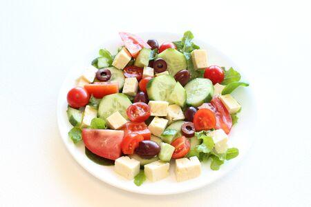 Greek salad Stock Photo - 14215438