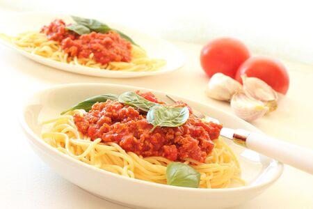 Spaghetti Bolognese Stock Photo - 15364140