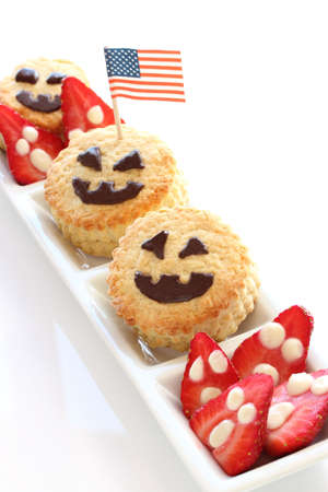 Halloween scone for kids photo