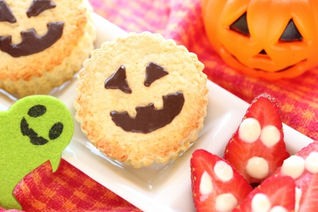 Halloween scone for kids party