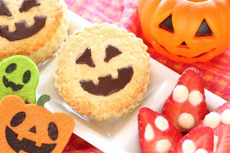 Halloween scone for kids party photo