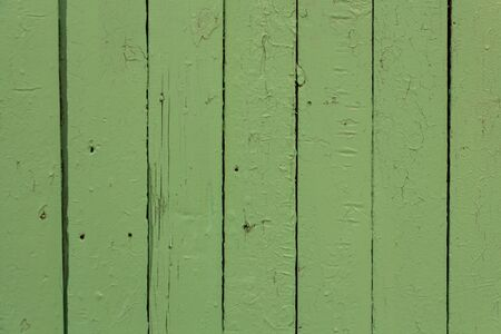 background of parallel wooden boards, green, emerald color, place for text, copyspace Imagens - 148274500