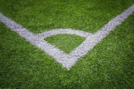 conner: soccer field grass conner