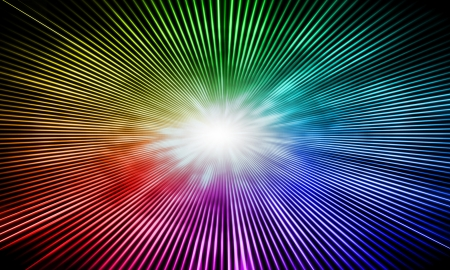 abstract rainbow background Stock Photo - 20593531
