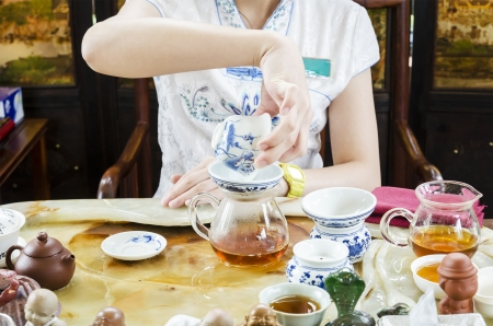 Traditional Chinese tea photo