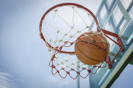 endeavor: basketball close up, basketball Stock Photo