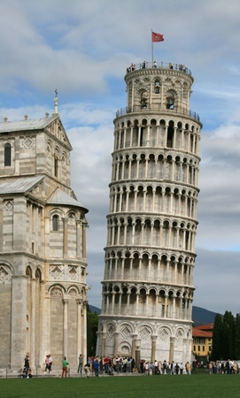 Leaning tower photo