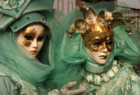 green costumes photo
