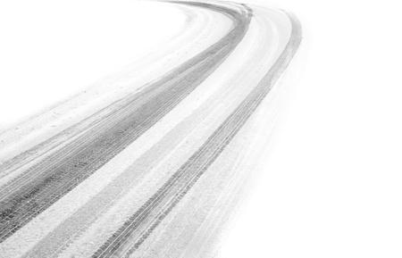 huellas de llantas: neumáticos pistas