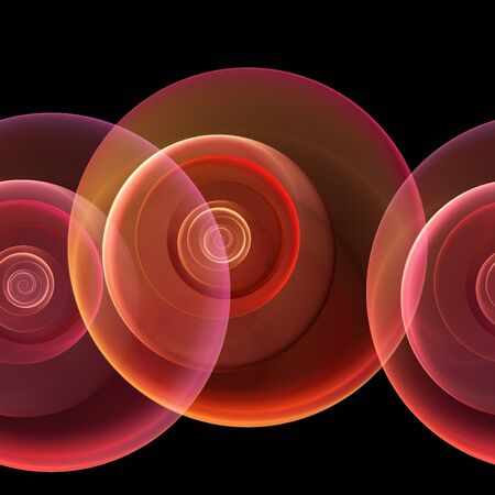 seamless repeatable fractal backgroundin pink and red on black Stock Photo - 11538472