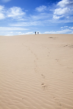 Fuerteventura; Corralejo sand dunes nature park photo