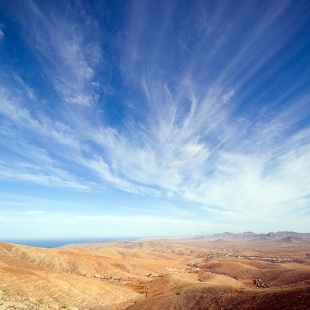 Fuerteventura, Canary Islands, view from Mirador de Guise y Ayose photo