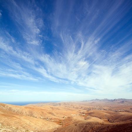 Fuerteventura, Canary Islands, view from Mirador de Guise y Ayose