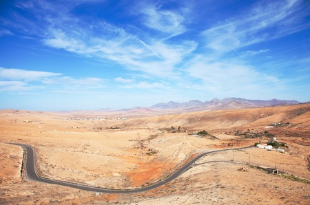 inland Fuerteventura, Canary Islands, Province of Betancuria photo