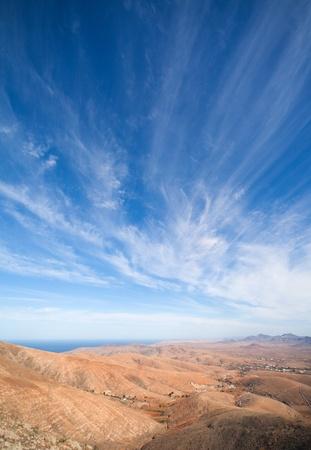 guise: Fuerteventura, Canary Islands, view from Mirador de Guise y Ayose