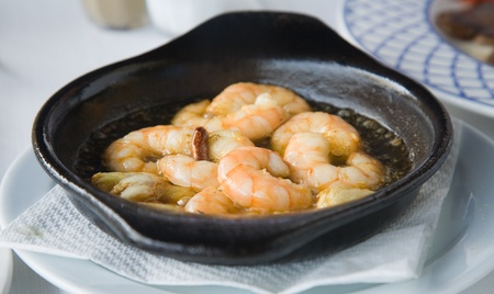 Garlic shrimp tapa (Gambas al Ajillo) photo