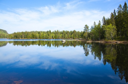 northern lake Stock Photo - 12185181