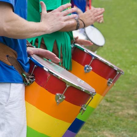 drumming: samba drumming