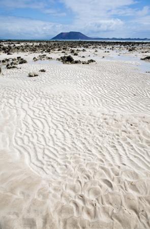 Fuerteventura, Canary Islands, Corralejo Flag Beach, low tide photo