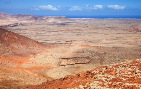 hondo: Northern Fuerteventura, Canary Islands, view north from Calderon Hondo