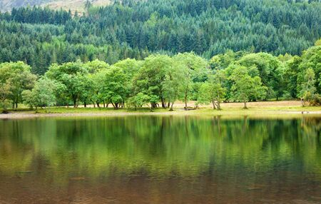 Loch Lubnaig, Scotland, summer scnery Stock Photo - 15048093