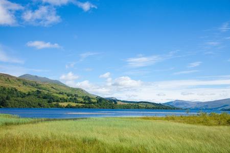 tay: Loch Tay close to Killin, Scotland Stock Photo