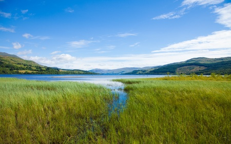 Loch Tay close to Killin, Scotland Stock Photo - 15048069