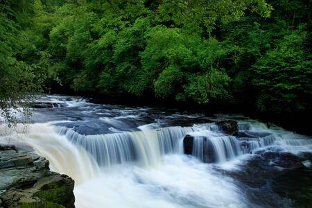 linn: Dundaff Linn waterfall on Clyde
