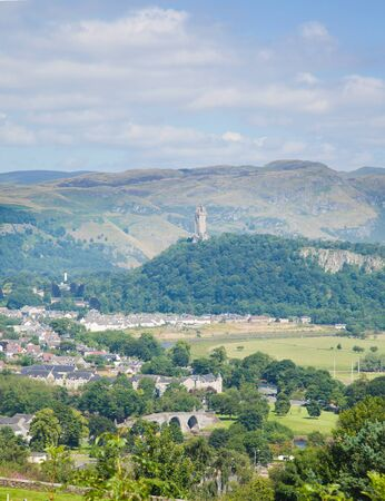 wallace: Wallace monument in summer