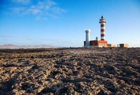 Toston lighthouse, El Cotillo, Fuerteventura Stock Photo - 15250854